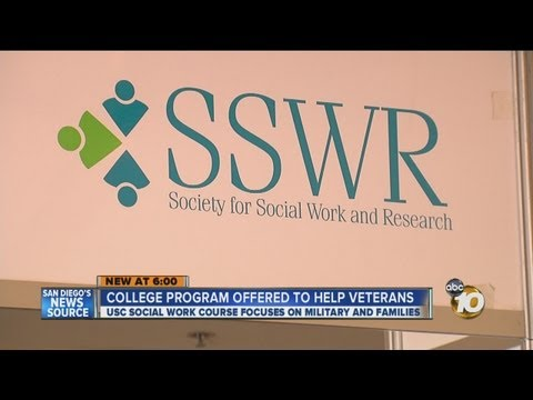 College program offered to help veterans: USC social work course focuses on military and families