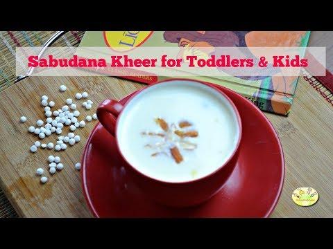 Weight gaining recipe for kids: Sago kheer/ Sabudana kheer for toddlers & kids