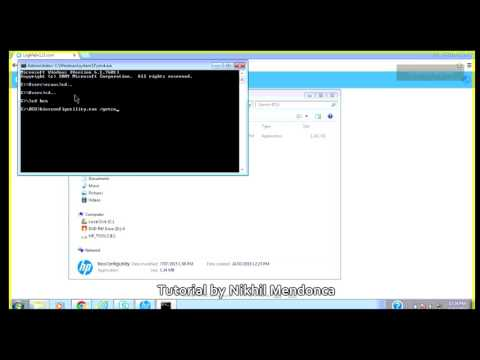 Use BIOS Config Utility to Make changes in BIOS within Windows [HP Only]