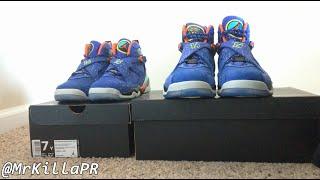 b7c72809f483 Air Jordan 8 Doernbecher GS Detailed Sneaker Review