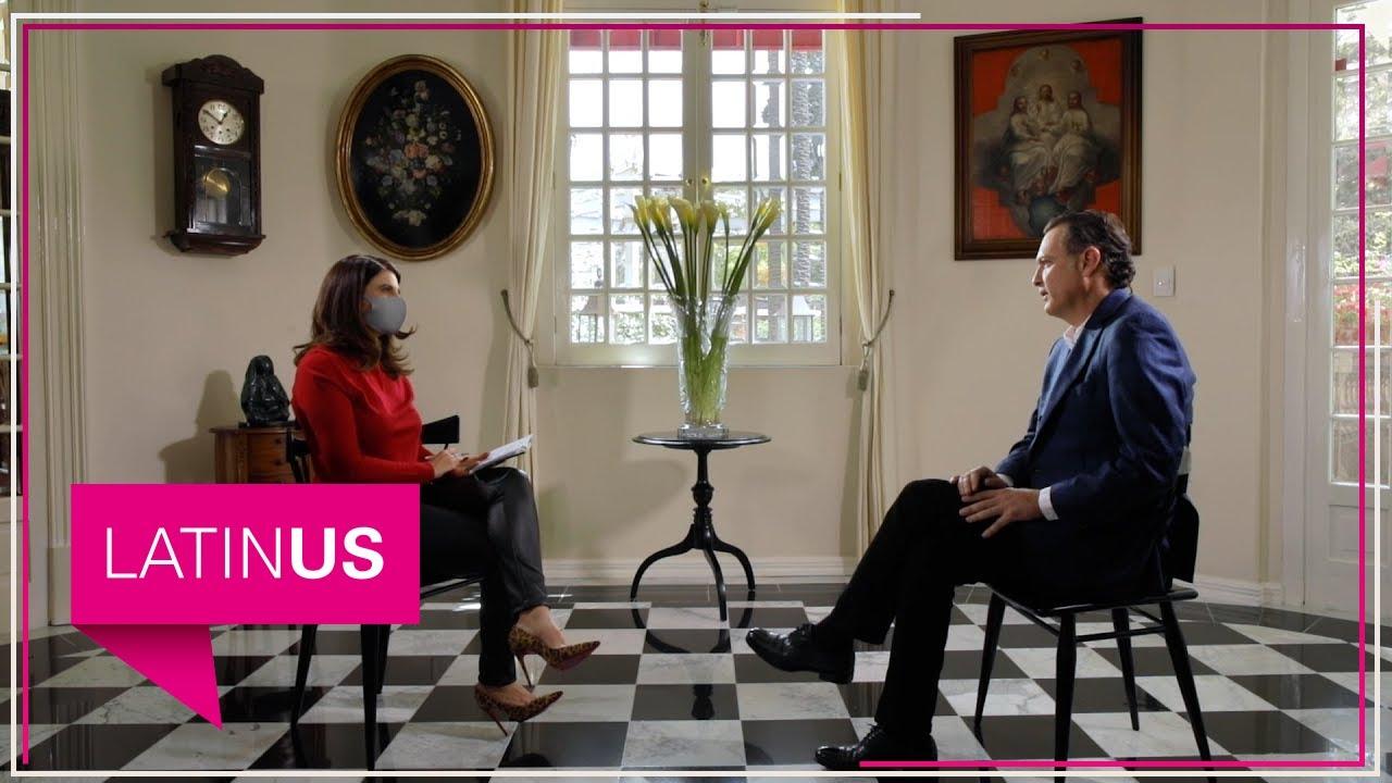 María Scherer entrevista a Mauricio Kuri, aspirante del PAN a la gubernatura de Querétaro