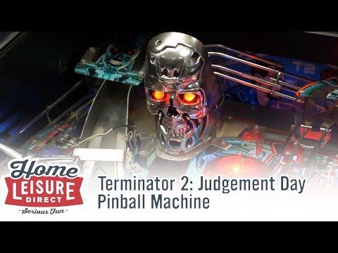Terminator 2: Judgement Day Pinball Machine (Williams 1991)
