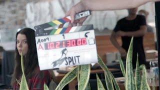 SPLIT Behind The Scenes Footage & Movie Clips