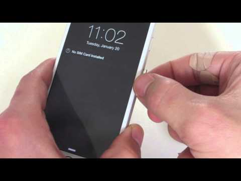 ALL IPHONES (3/4/5/6) : HOW TO REMOVE & INSERT SIM CARD