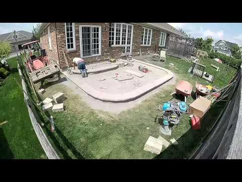 GoPro Interlock Patio Construction- Brick n Block Ottawa