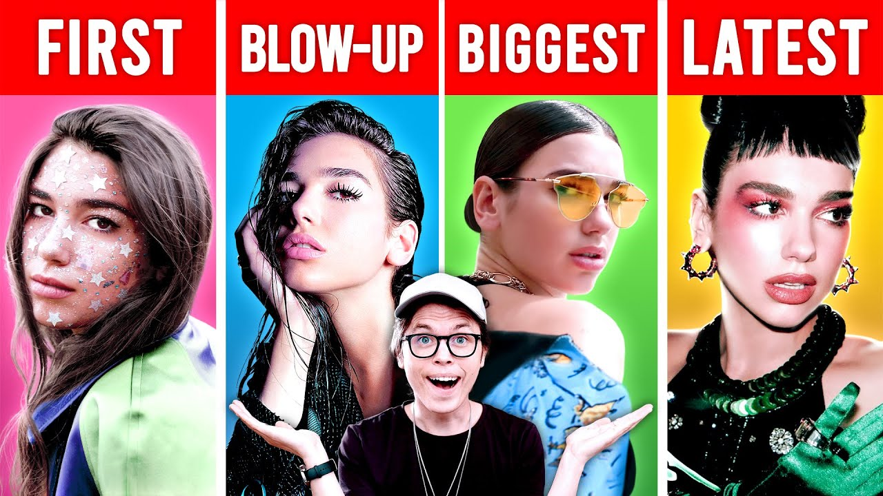 Singers' FIRST vs BLOW-UP vs BIGGEST vs LATEST Songs #1