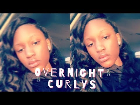 HOW TO GET OVERNIGHT CURLS| NO HEAT !