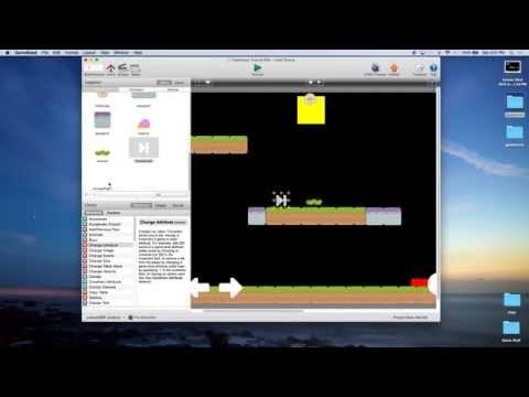 Platformer Tutorial for GameSalad Creator 008 - Enemies - Method 2