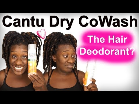 Hair Product Review | Cantu ACV Dry Co-Wash on 4c Natural Hair