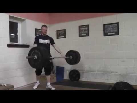 David Nolan Clean and Jerk 140kg @ 89kg