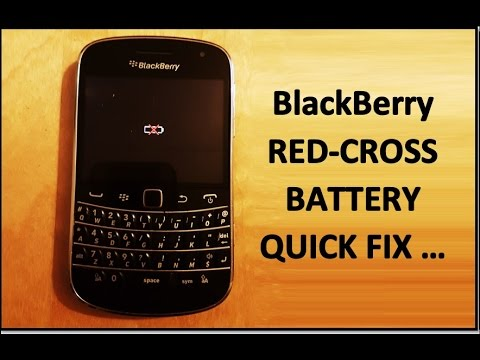 FIX BlackBerry - RED-CROSS BATTERY !!