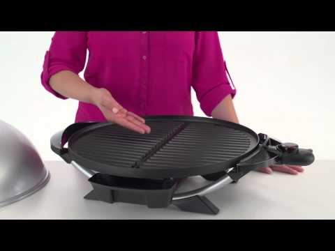 The George Foreman 15-Serving Indoor/Outdoor Electric Grill