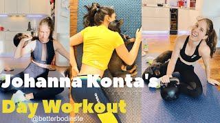 Johanna Konta's Day Workout