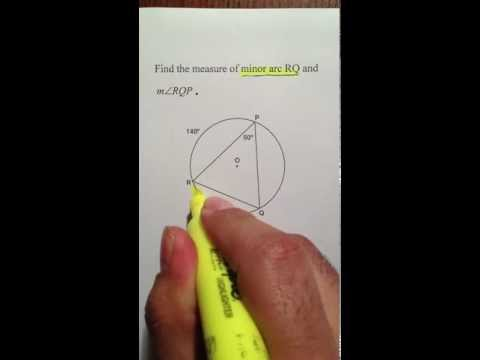 Moya Math Geometry (Finding Arcs and Angles Within Circles)