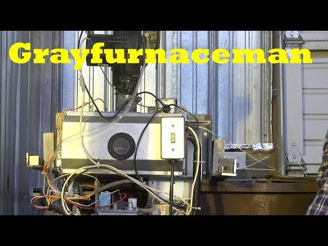Make a forge from a furnace, adapting the furnace part #2