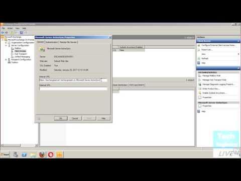 Configure ActiveSync Virtual Directory in Exchange Server 2010