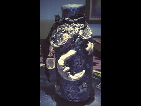Celestial Bottle-Polymer Clay Tutorial-A1 Legged Life