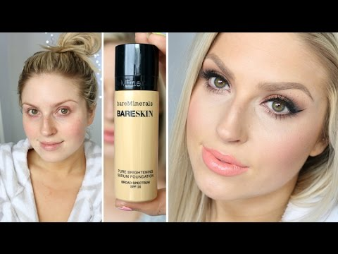 First Impression! ♡ Bare Minerals Bare Skin Liquid Foundation