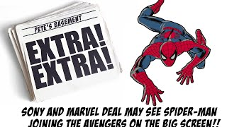 Sony And Marvel Studios Spider man Deal In The Works