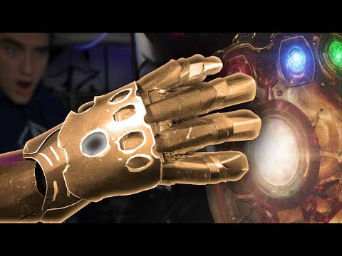 Make an Infinity Gauntlet! - Full Metal, Avengers Infinity War (Part 1)