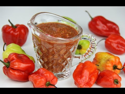 Fiery Pepper-Sauce (2 minutes & 5 ingredients) | CaribbeanPot.com