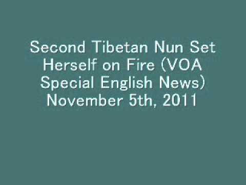 Second Tibetan Nun Set Herself on Fire (VOA Special English News)