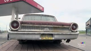 Alberta man reunites with his first car after 40 years