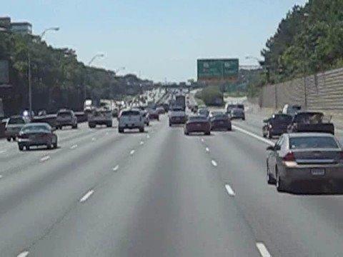 Going to Atlanta, Georgia in the truck
