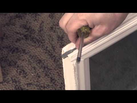 How to Replace a Pivot Pin in a Tilt Sash Vinyl Window