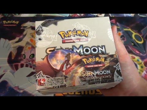 Pokemon TCG Sun & Moon Burning Shadows Booster Box Opening