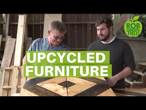 Beautiful Upcycled Furniture Made from Reclaimed Wood
