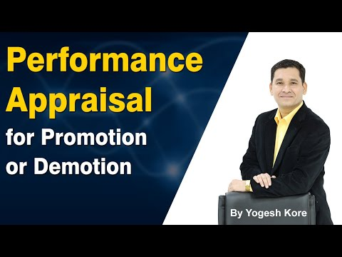 Performance Appraisal System to Measure Employees' Performance - Manager Training in Hindi