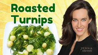 Recipe Demo Roasted Turnips With Greens How To Cook Turnips Recipe Ve