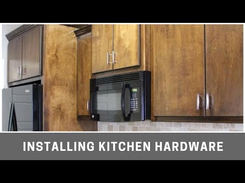 Installing Kitchen Cabinet Hardware With Kreg Cabinet Jig