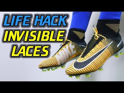 LIFE HACK! - How To Make Your Laces INVISIBLE! (Tutorial)