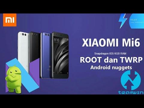 Cara ROOT dan pasang TWRP Xiaomi Redmi MI6 Android Nuggets