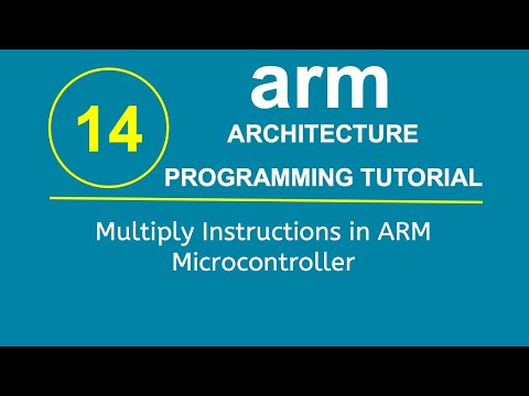 ARM Programming Tutorial 14- Multiply Instructions in ARM Microcontroller
