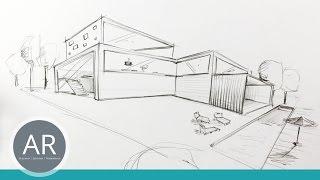Architekturskizzen Schnell Visualisiert Mappenvorbereitungskurs Architektur