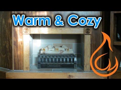DIY Homemade Electric Fireplace