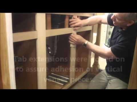 Iron on Veneer Cabinet Frame