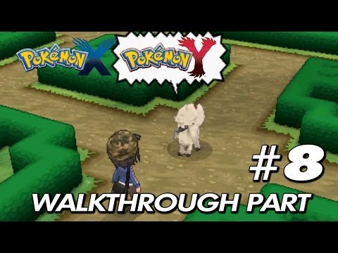 Pokemon X & Y - Walkthrough Part 8