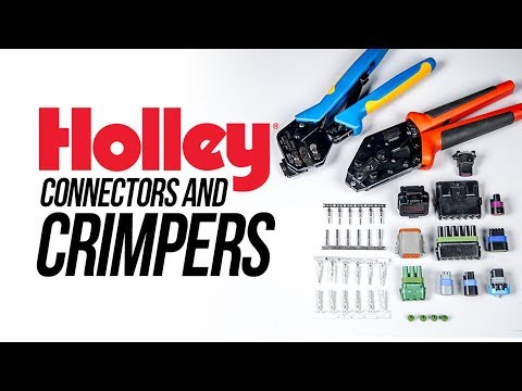 Holley MSD Connectors and Crimpers