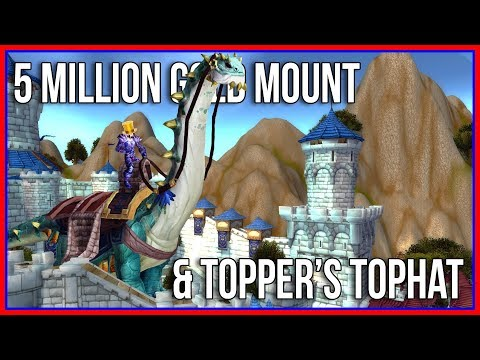 Gold Making End Game: The 5 Million Gold WoW Mount, Mighty Caravan Brutosaur