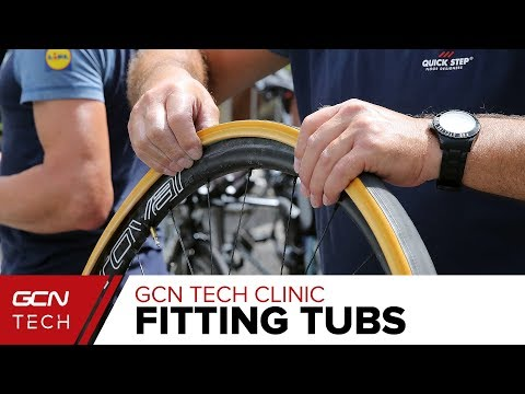 Tubular Tyres: Tape Or Glue? | The GCN Tech Clinic