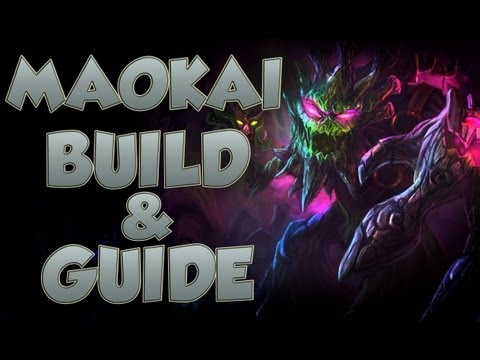 League of Legends - Maokai Build - with Commentary