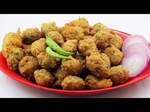 Moong Dal Vada / Pakoda / Bhajiya / Lentil Fritters | Super Tasty Tea Time Snack | Cook Shook