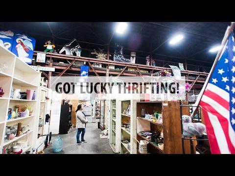 Got Lucky Thrifting! | @dunksrnice