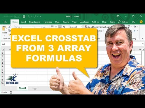 Excel Replace a Pivot Table with 3 Dynamic Array Formulas - 2244