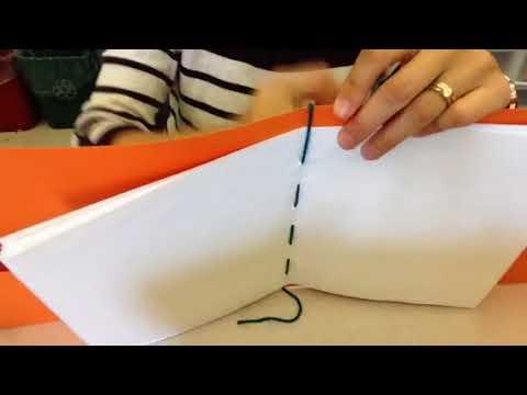 Sewn signature book