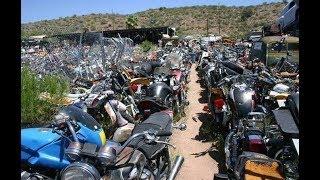 "Кладбище мотоциклов в США - ""ЗАГНИВАЮЩИЙ ЗАПАД"""